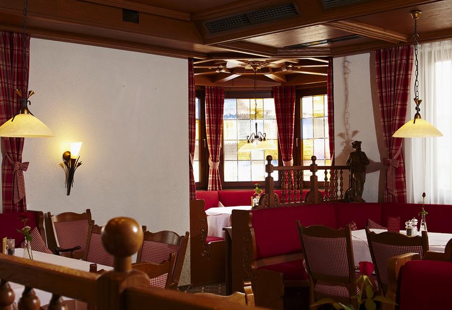 Landgasthof Hirsch in Lossburg, Restaurant