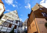Hotel Arminius in Bad Salzuflen im Teutoburger Wald, Außenansicht vom Hotel