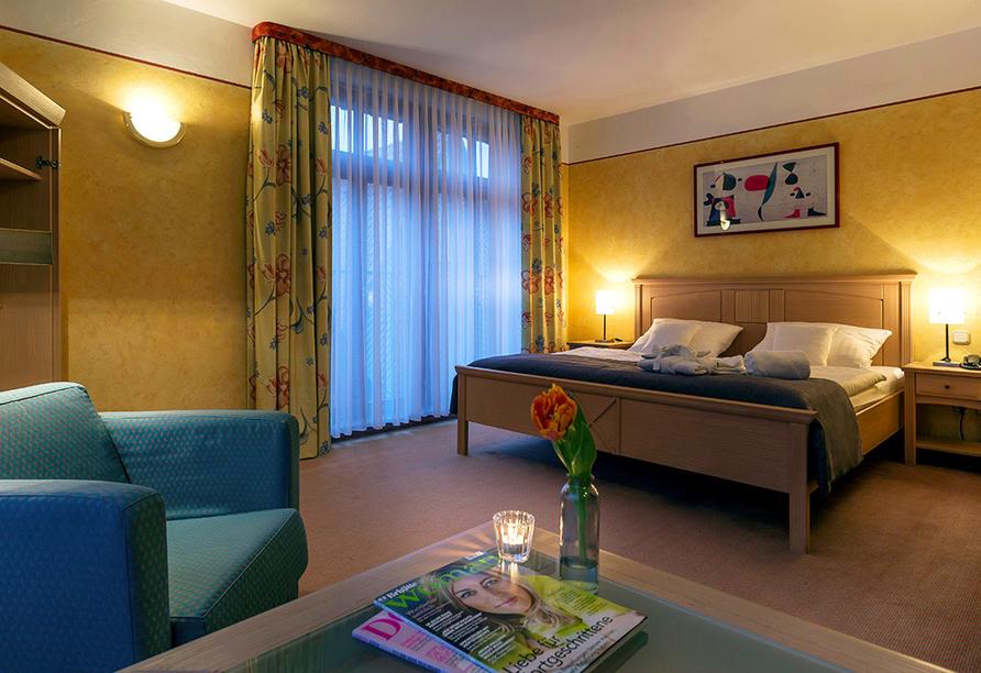 Hotel Arminius in Bad Salzulfen im Teutoburger Wald, Zimmerbeispiel