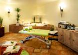 Hotel Arminius in Bad Salzuflen im Teutoburger Wald, Liege im Wellnessbereich