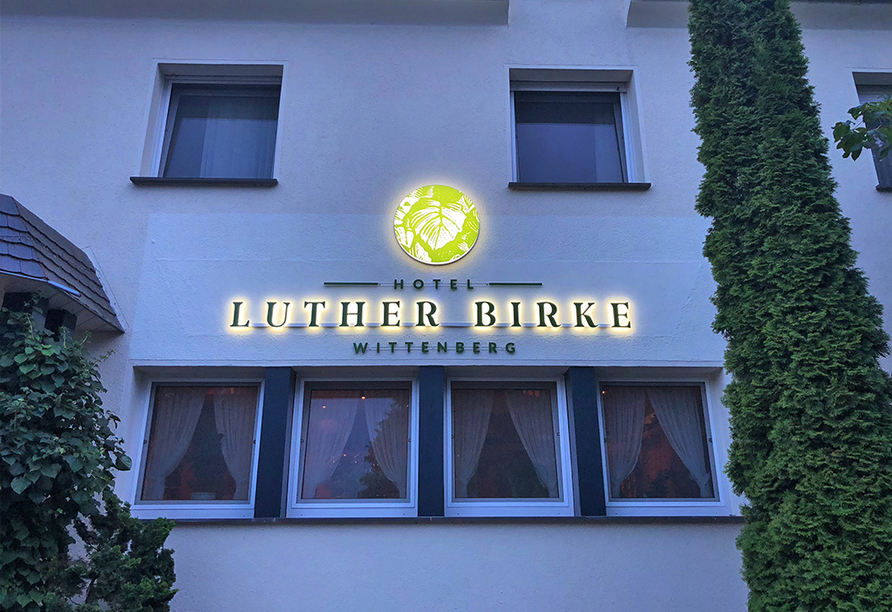 Hotel Luther Birke Wittenburg, Logo