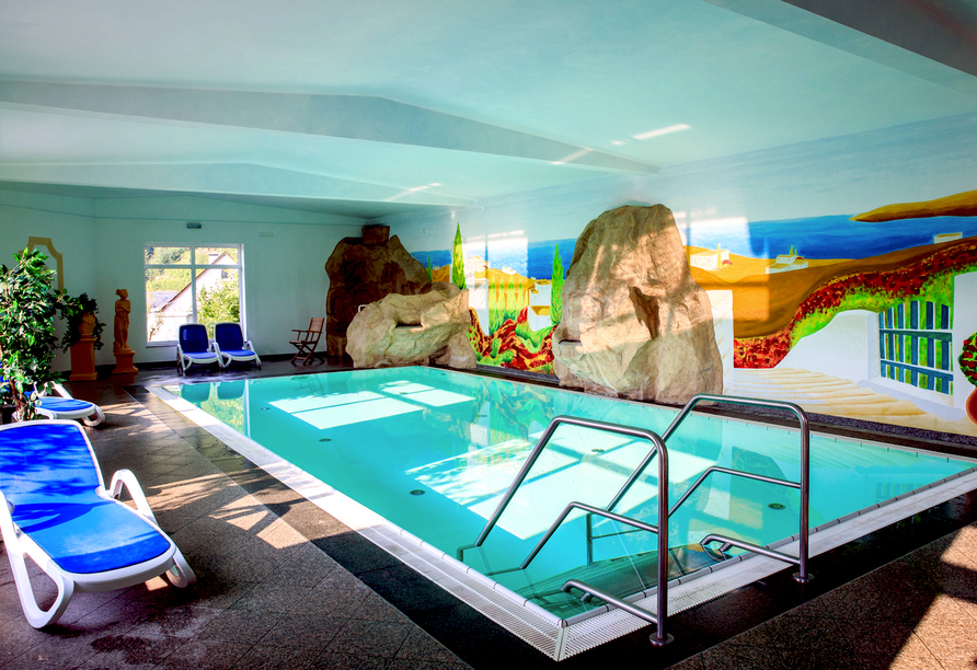 Hotel Anker in Brodenbach an der Mosel Schwimmbad