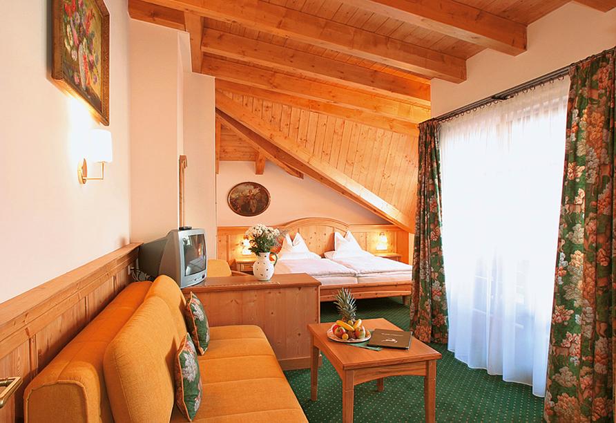 Hotel zum Hirschen in Zell am See, Zimmer