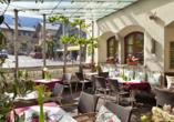 Hotel zum Hirschen in Zell am See, Terrasse