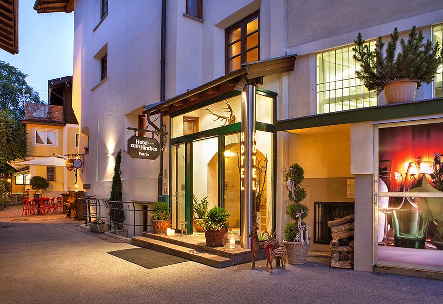 Hotel zum Hirschen in Zell am See, Eingang