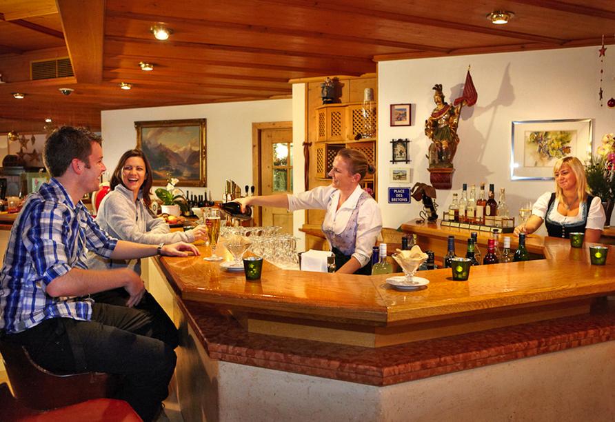 Hotel zum Hirschen in Zell am See, Bar