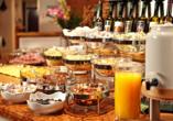 Hotel zum Hirschen in Zell am See, Frühstück