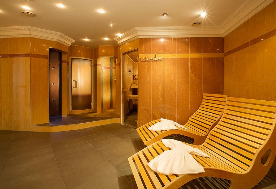 Hotel Waldachtal, Sauna im Nebengebäude BelVital