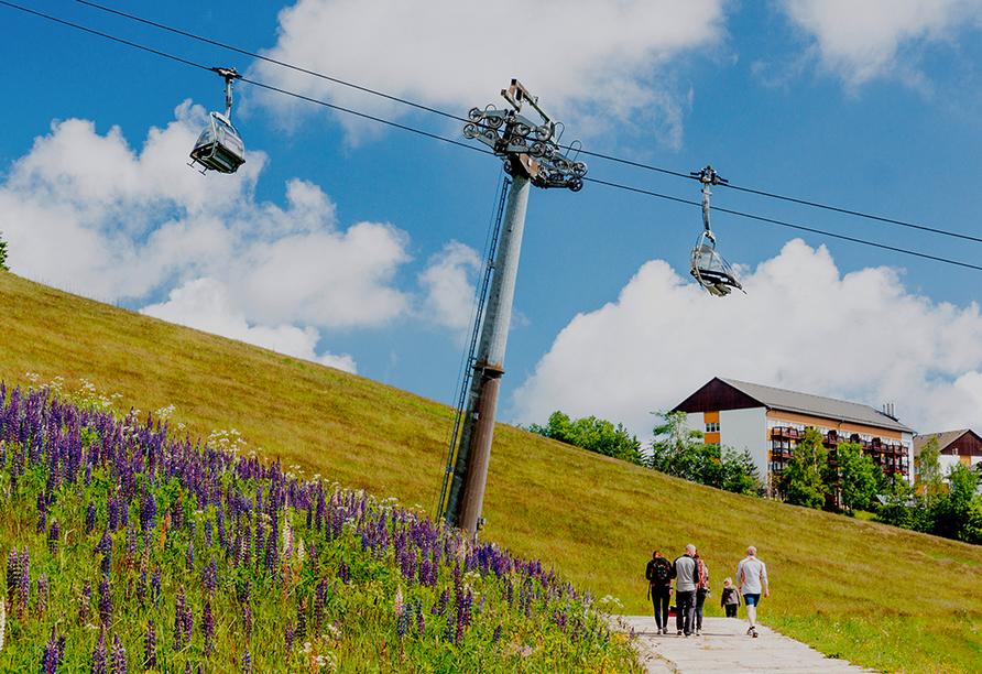 Hotel Alpina Lodge Oberwiesenthal, Sessellift