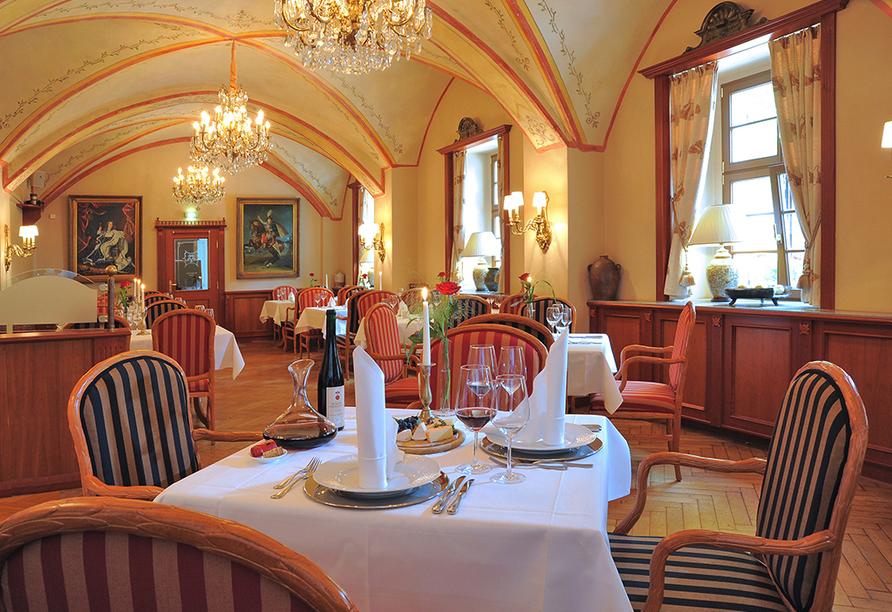 Romantikhotel Burgkeller in Meißen Sachsen, Restaurant