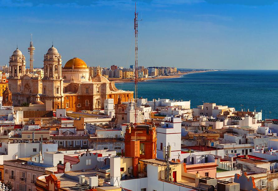 Busrundreise Temperamentvolles Andalusien, Cádiz