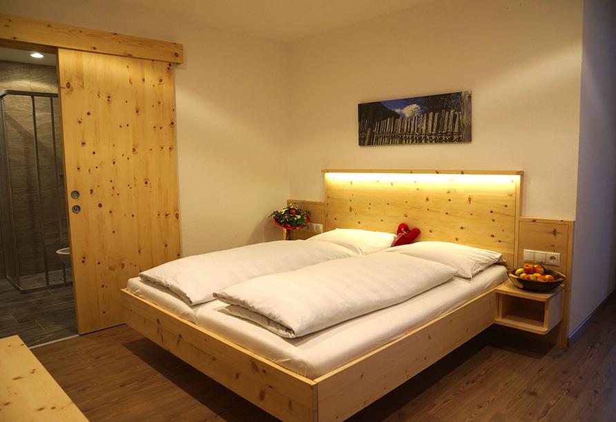 Berghotel Alpenrast in Rein in Taufers Südtirol, Zimmer