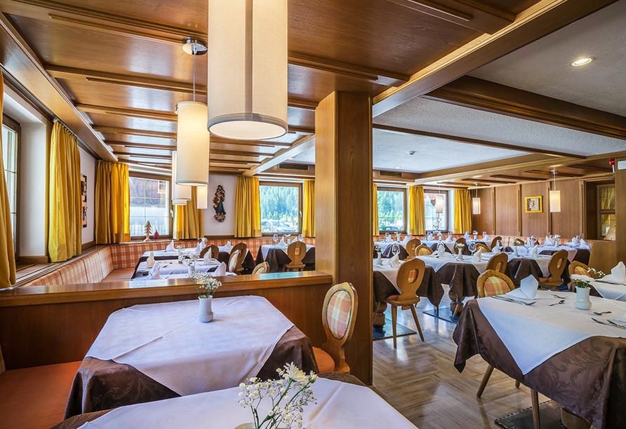 Berghotel Alpenrast in Rein in Taufers Südtirol, Restaurant
