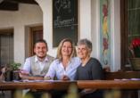 Berghotel Alpenrast in Rein in Taufers Südtirol, Die Gastgeberfamilie