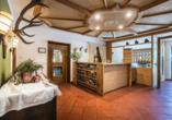 Berghotel Alpenrast in Rein in Taufers Südtirol, Lobby