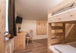 Berghotel Alpenrast in Rein in Taufers Südtirol, Beispielfamilienzimmer