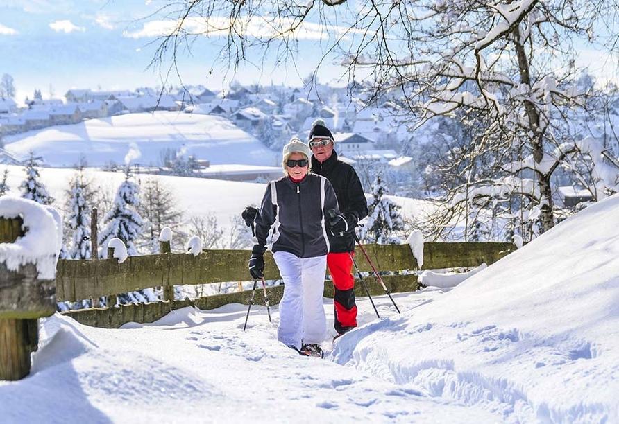 Berghotel Alpenrast in Rein in Taufers Südtirol, Schneewandern