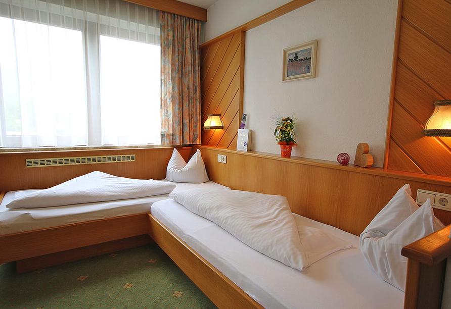 Hotel Auderer in Imst in Tirol Österreich, Zweibettzimmer Beispiel