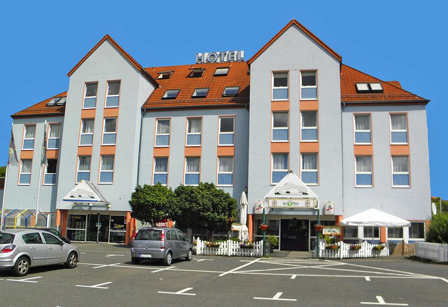 Parkhotel Schotten in Vogelsberg Hessen, Außenansicht