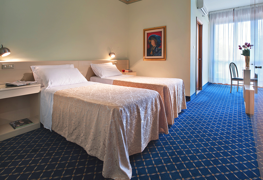 Hotel Terme Bologna in Abano Terme, Beispieldoppelzimmer