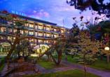 Hotel Terme Bologna in Abano Terme, Außenansicht