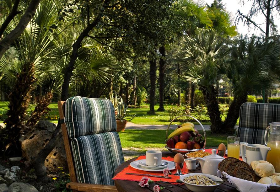 Hotel Terme Bologna in Abano Terme, Garten