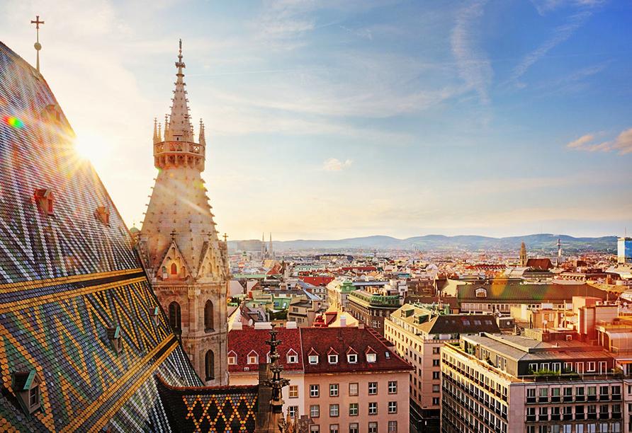 Hotel Mozart in Wien Österreich, St. Stephan Kathedrale