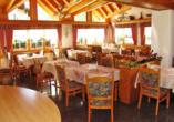 Hotel Eden in Saas-Grund im Saastal Restaurant
