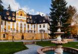 Zamek Luzec Spa & Wellness Resort, Nova Role, Tschechien, Außenansicht