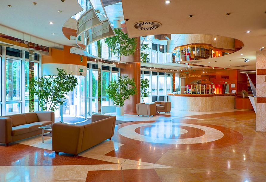 Hotel Cosmopolitan Bobycentrum, Lobby