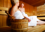 Holiday Inn Mulhouse in Frankreich, Sauna