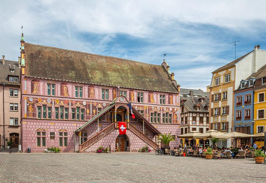 Holiday Inn Mulhouse in Frankreich, Rathaus
