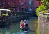 Holiday Inn Mulhouse in Frankreich, Ausflugsziel Klein Venedig