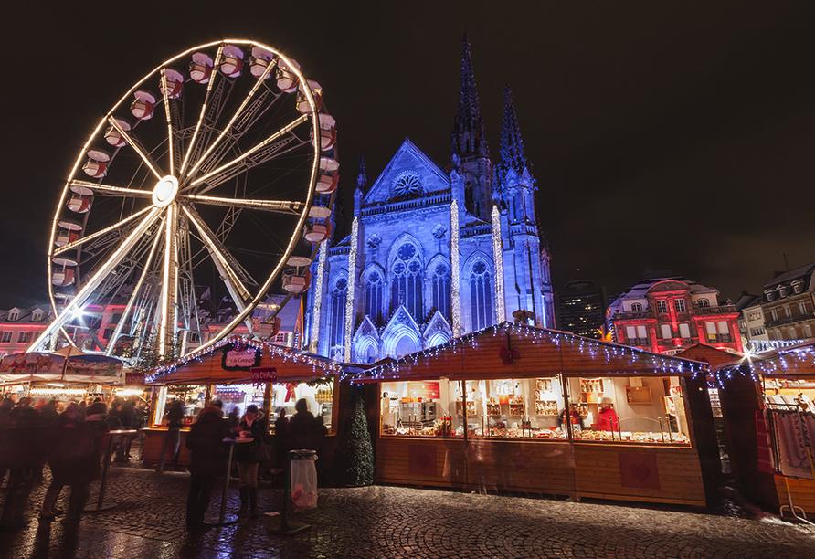 Holiday Inn Mulhouse in Frankreich, Weihnachtsmarkt