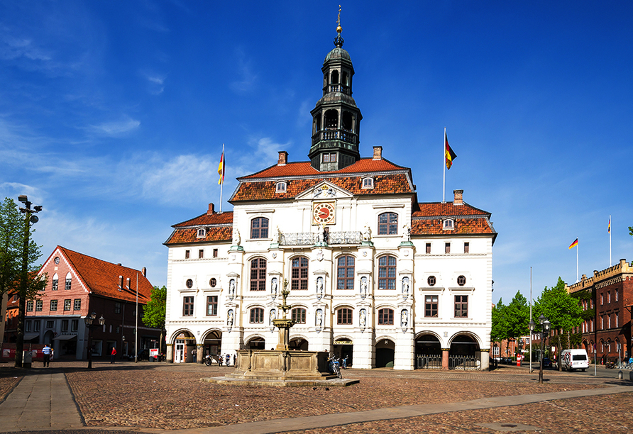 Heide Hotel Reinstorf, Ausflugsziel Rathaus Lüneburg