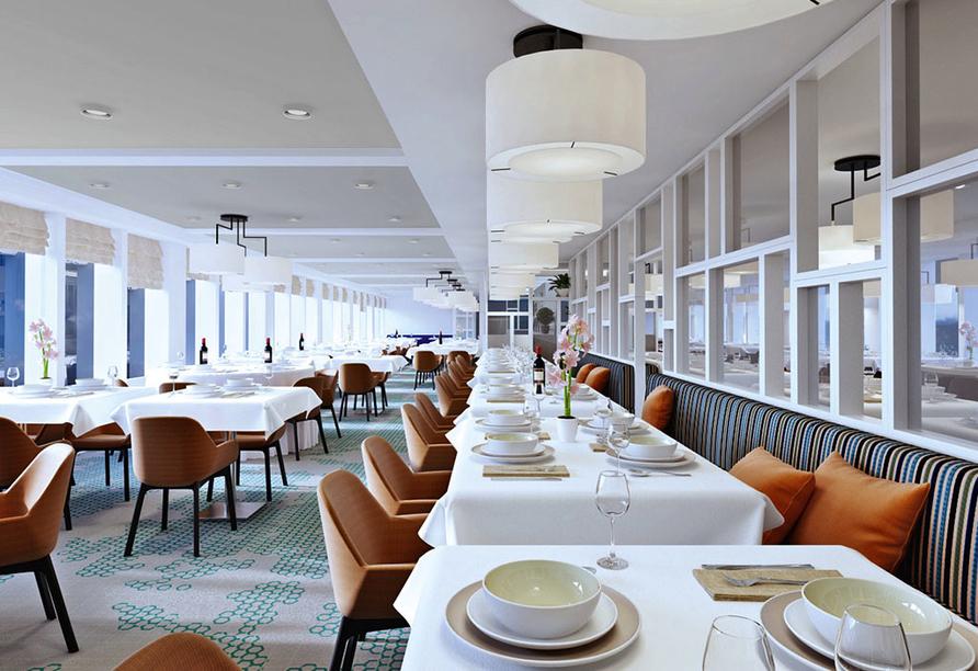 MS Asara, Restaurant