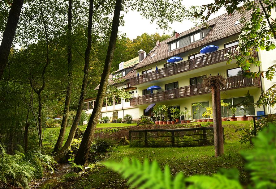 Hotel WALDHAUS in Mespelbrunn, Außenansicht