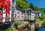 Michel & Friends Hotel Monschau in der Eifel Fachwerkhäuser