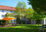 Novum Hotel am Seegraben in Cottbus Garten