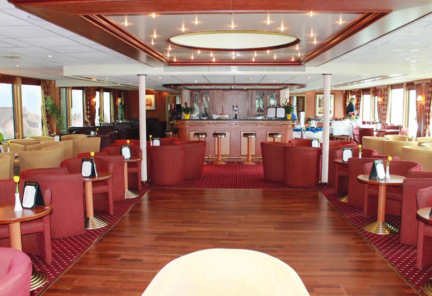 MS Prinzessin Isabella, Lounge, Bar und Tanzfläche