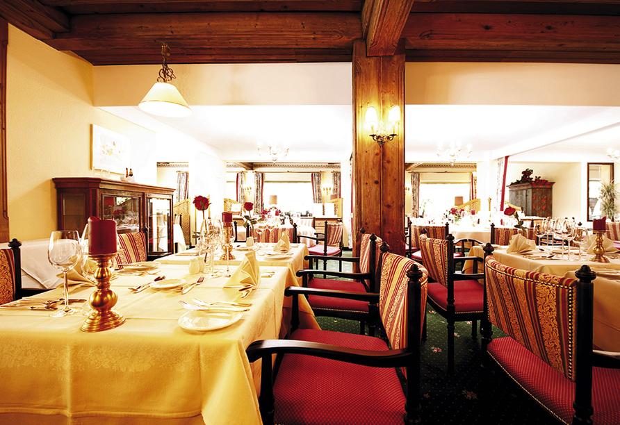 Bergresort Seefeld, Restaurant
