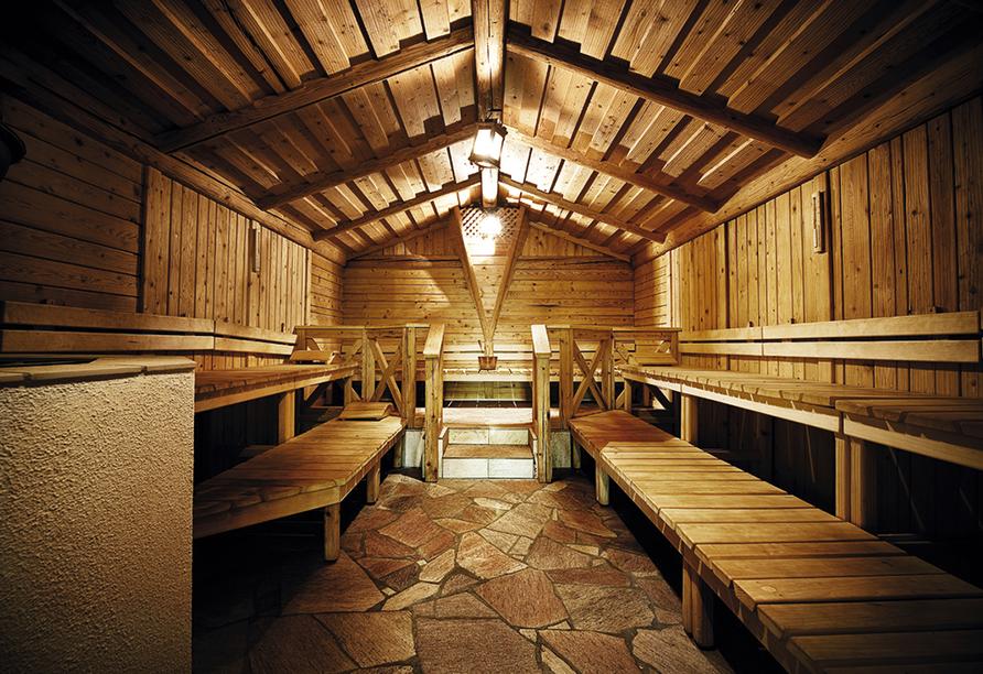 Bergresort Seefeld, Almsauna