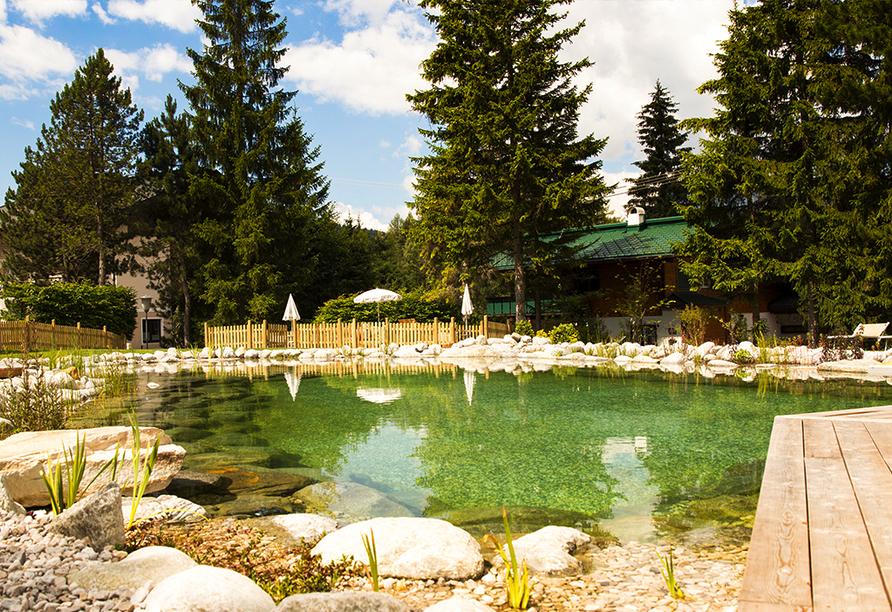 Bergresort Seefeld, Naturbadeteich