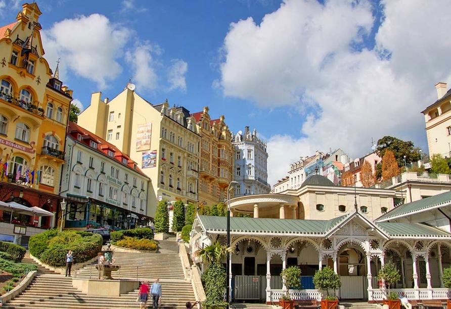 Hotel Dvorana Karlsbad Tschechien, Marktkolonnade