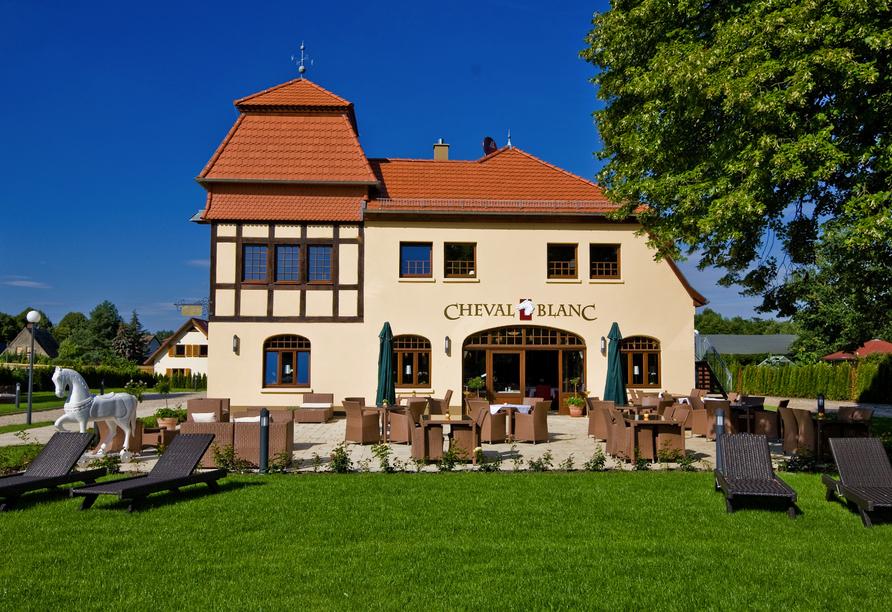 Schlosshotel Wendorf, Außenansicht Hotel Residenz