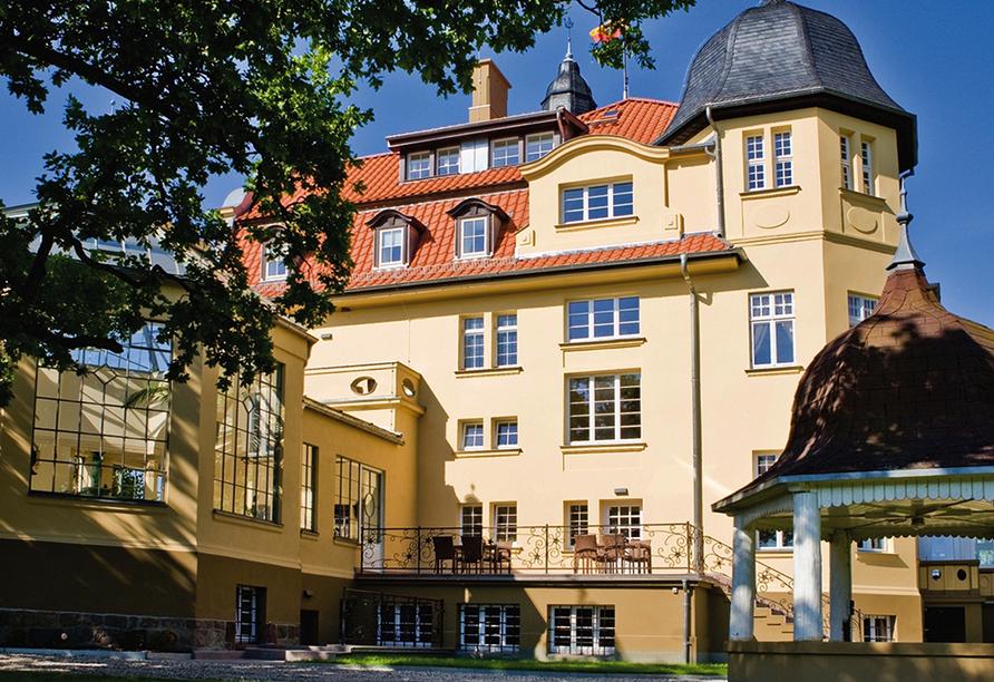 Schlosshotel Wendorf,  Außenansicht Grand Hotel