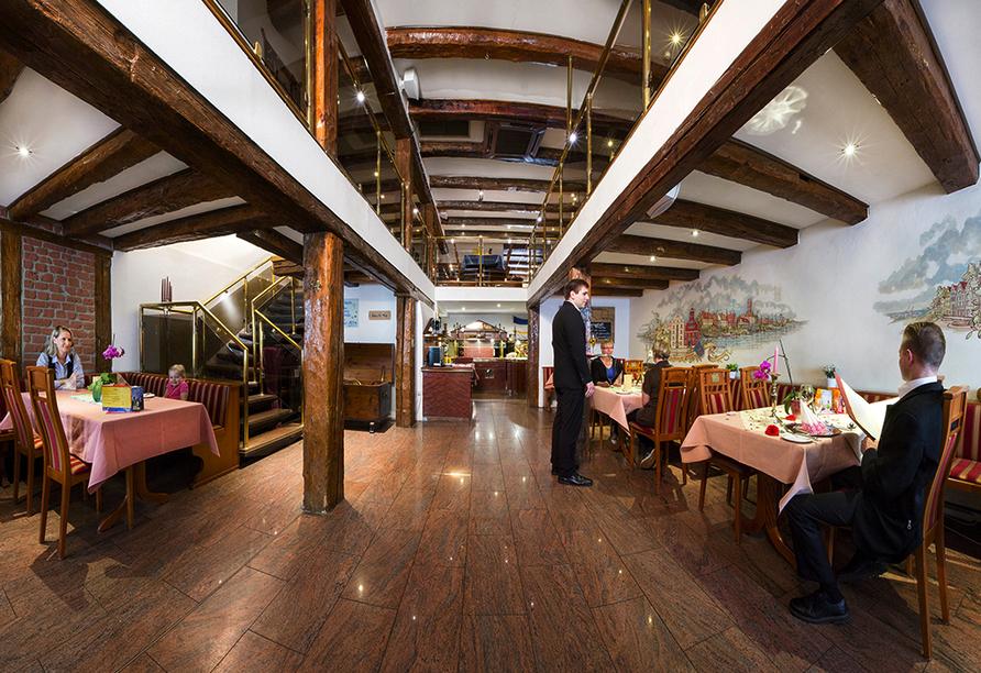 Hotel Alter Speicher in Wismar, Restaurant