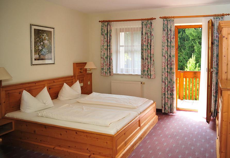 Landhotel Margeritenhof Drachselsried, Beispiel Doppelzimmer