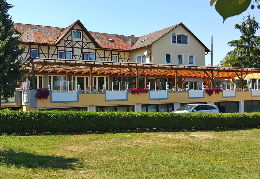 Seebauer Hotel Gut Wildbad, Terrasse