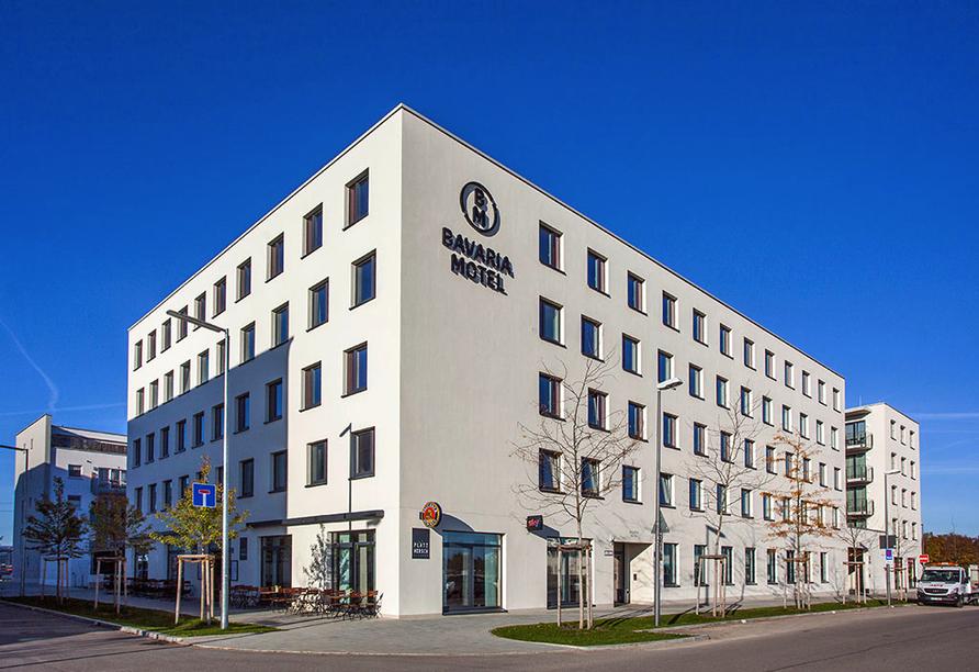 Bavaria Motel in München in Bayern, Außenansicht